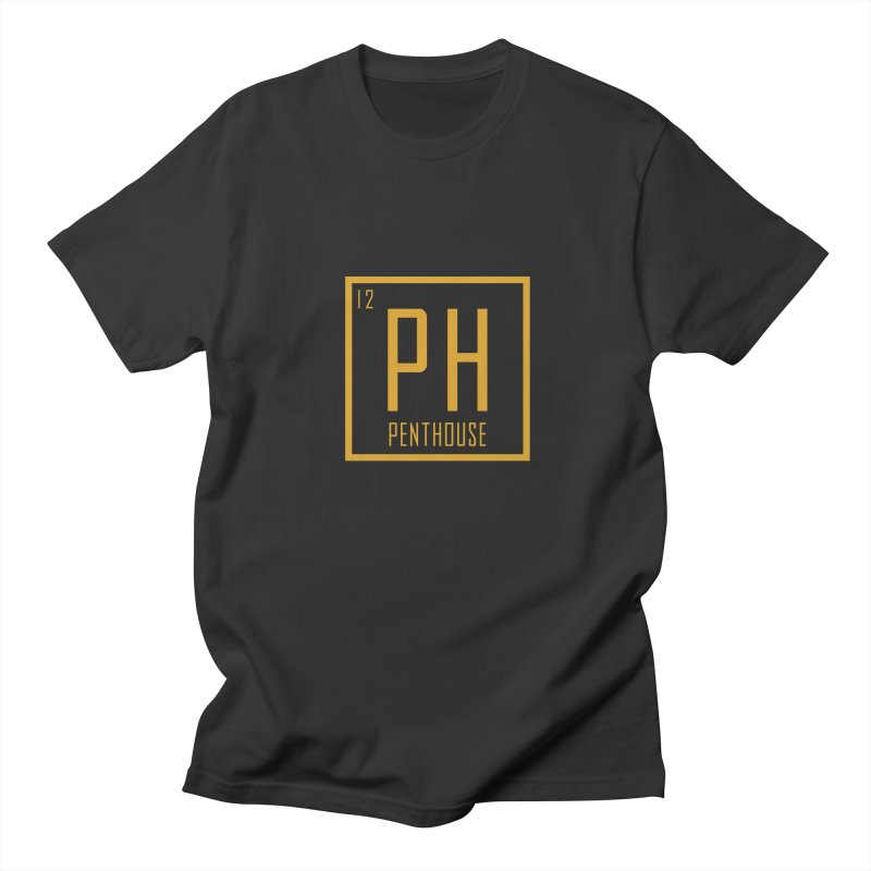 Periodic PH_Gold Women's Regular Unisex T-Shirt by Penthouse Media's Shop