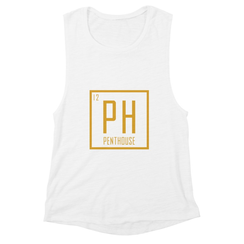 Periodic PH_Gold Women's Muscle Tank by Penthouse Media's Shop