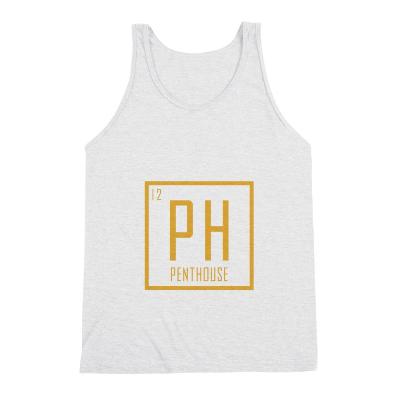 Periodic PH_Gold Men's Triblend Tank by Penthouse Media's Shop