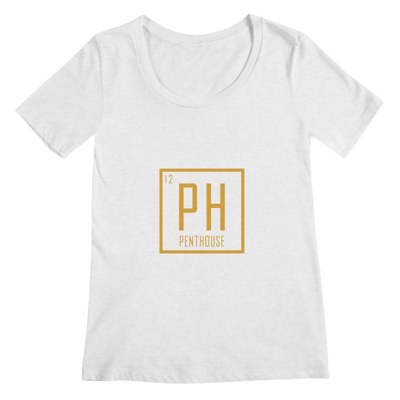Periodic PH_Gold Women's Regular Scoop Neck by Penthouse Media's Shop