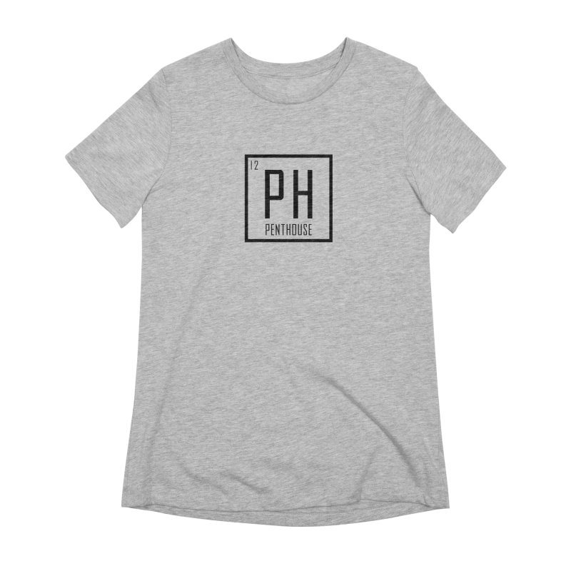 Periodic PH_Black Women's Extra Soft T-Shirt by Penthouse Media's Shop