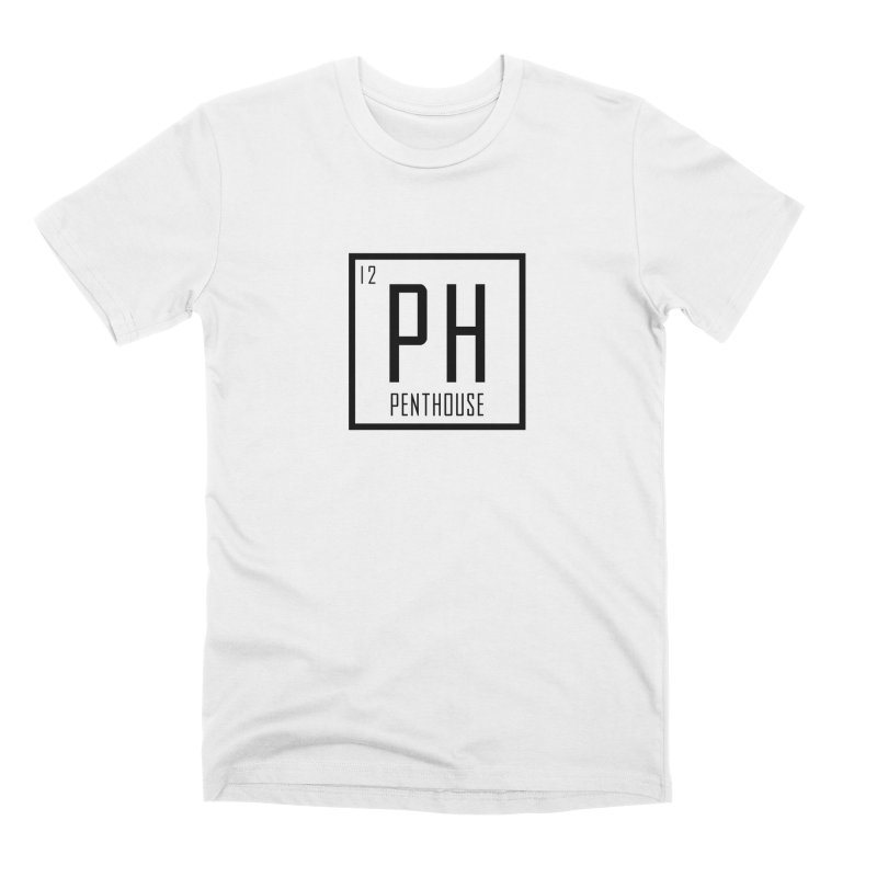 Periodic PH_Black Men's T-Shirt by Penthouse Media's Shop