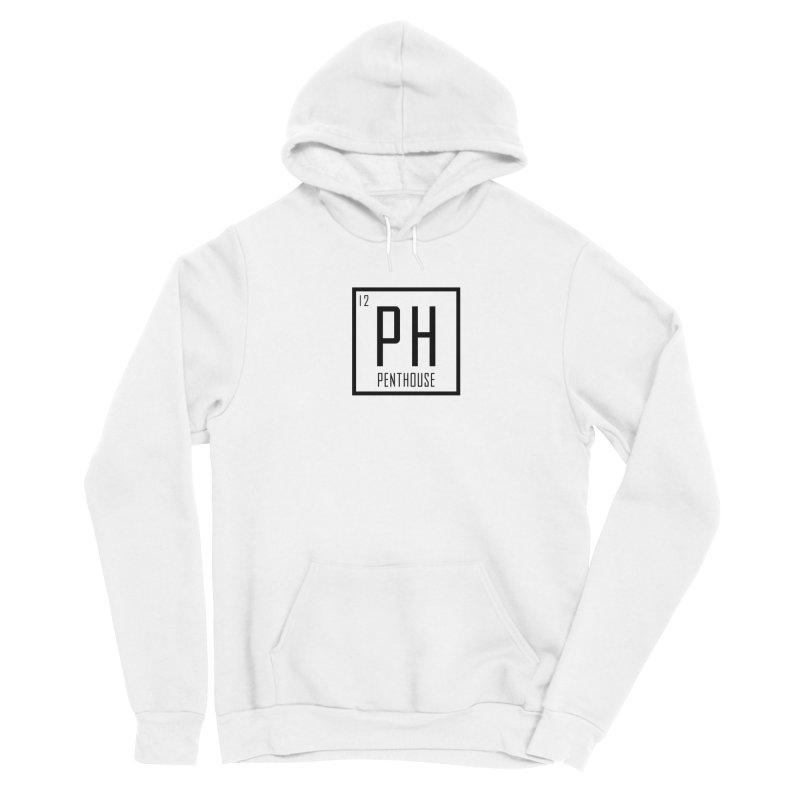 Periodic PH_Black Men's Pullover Hoody by Penthouse Media's Shop