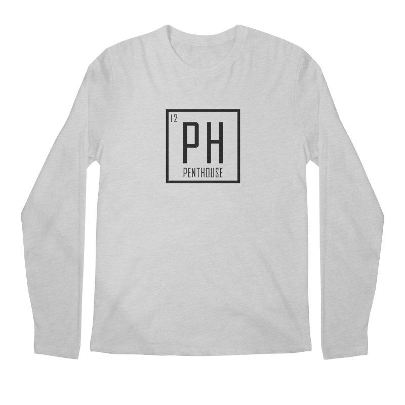 Periodic PH_Black Men's Regular Longsleeve T-Shirt by Penthouse Media's Shop