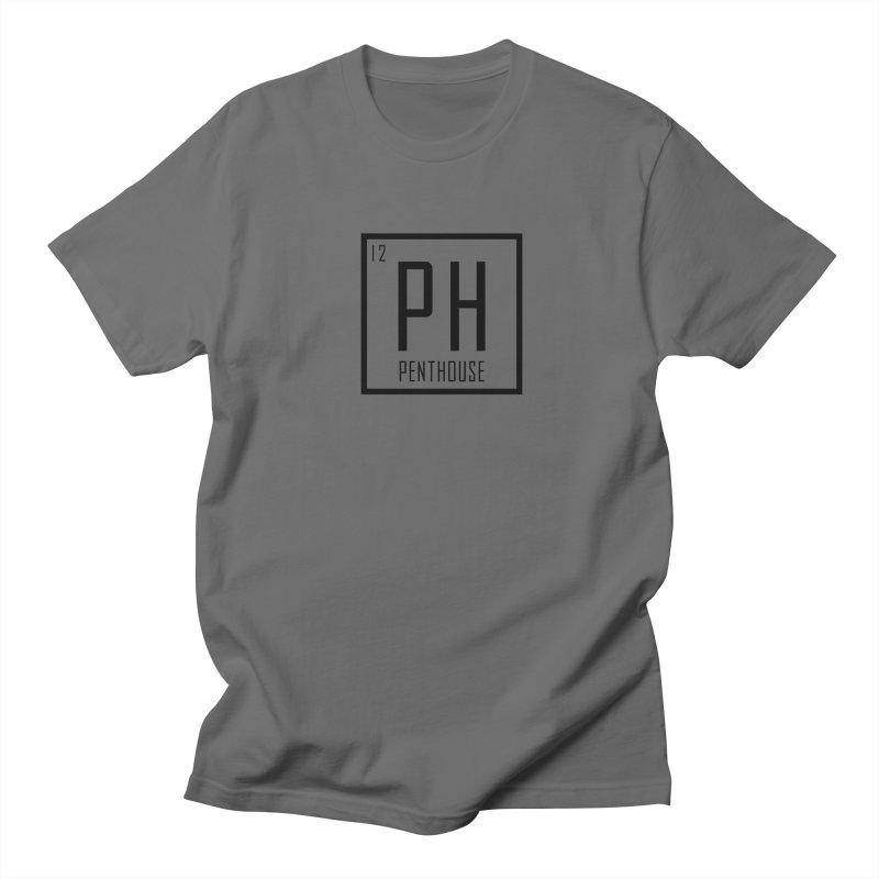 Periodic PH_Black Men's T-Shirt by Penthouse Media's Shop