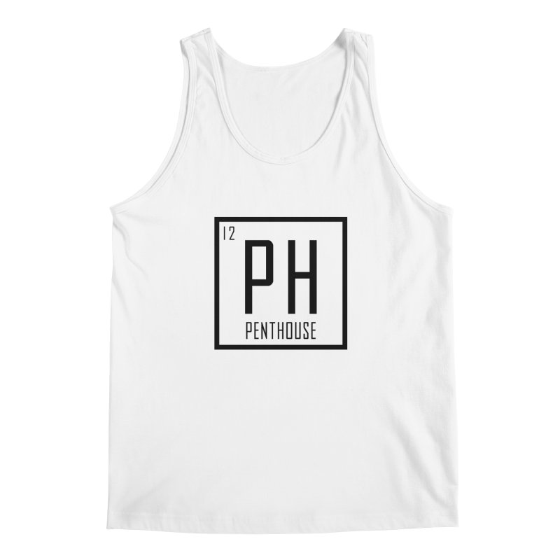 Periodic PH_Black Men's Tank by Penthouse Media's Shop