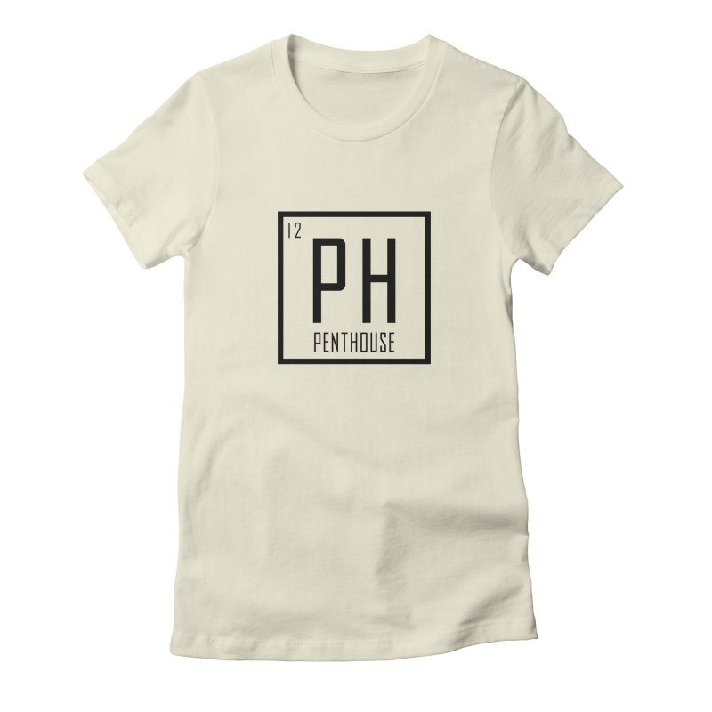Periodic PH_Black Women's Fitted T-Shirt by Penthouse Media's Shop