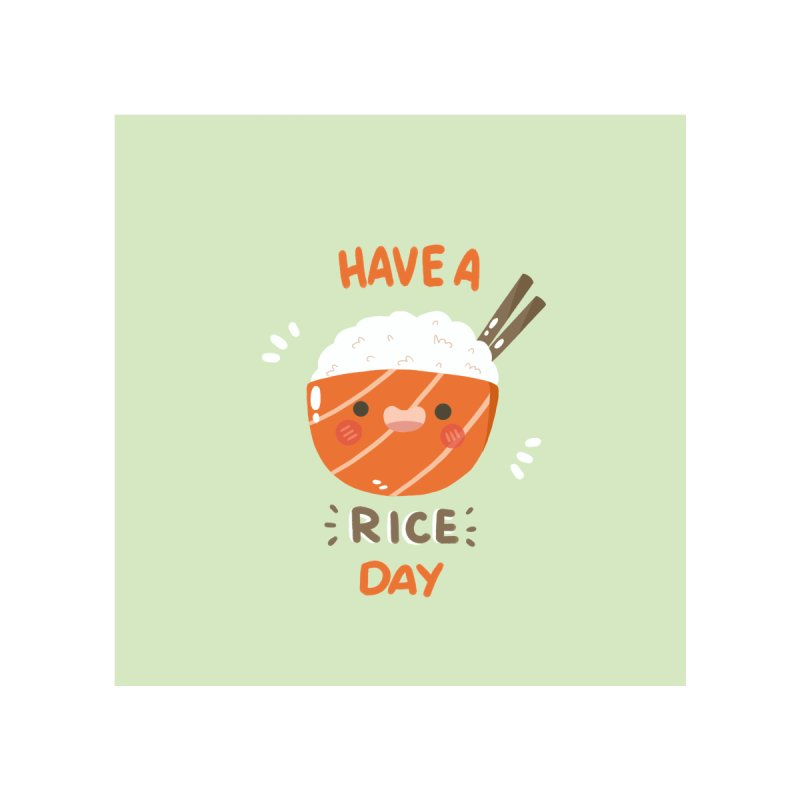 """Have a """"rice"""" day! Accessories Magnet by Peppermintbtop's Artist Shop"""