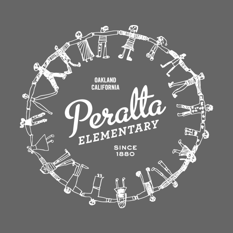 Peralta Classic Logo - White by PeraltaPride's Artist Shop