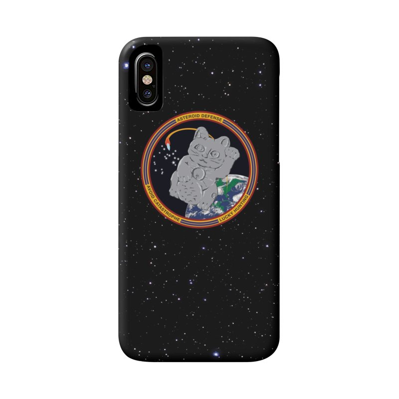 Stay Safe on Asteroid Day Accessories Phone Case by Peregrinus Creative