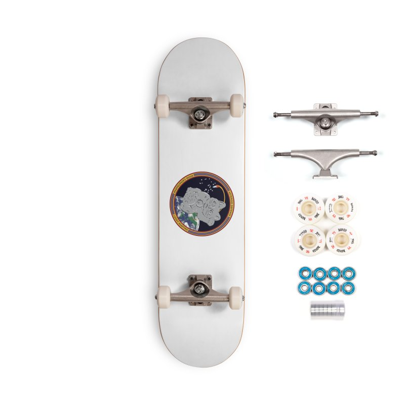 Stay Safe on Asteroid Day Accessories Complete - Premium Skateboard by Peregrinus Creative