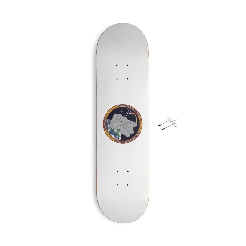 Stay Safe on Asteroid Day Accessories With Hanging Hardware Skateboard by Peregrinus Creative