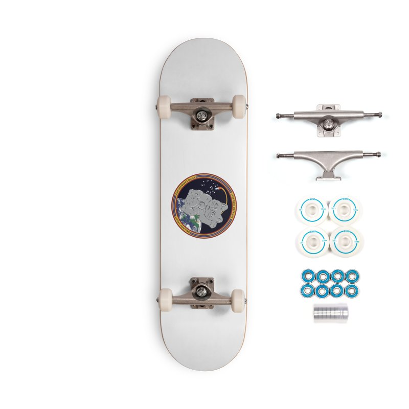Stay Safe on Asteroid Day Accessories Complete - Basic Skateboard by Peregrinus Creative