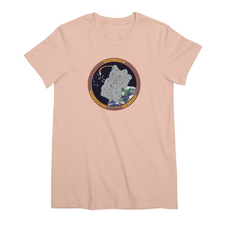 Stay Safe on Asteroid Day Women's Premium T-Shirt by Peregrinus Creative