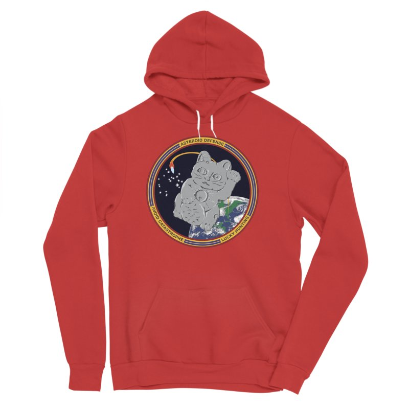 Stay Safe on Asteroid Day Women's Sponge Fleece Pullover Hoody by Peregrinus Creative