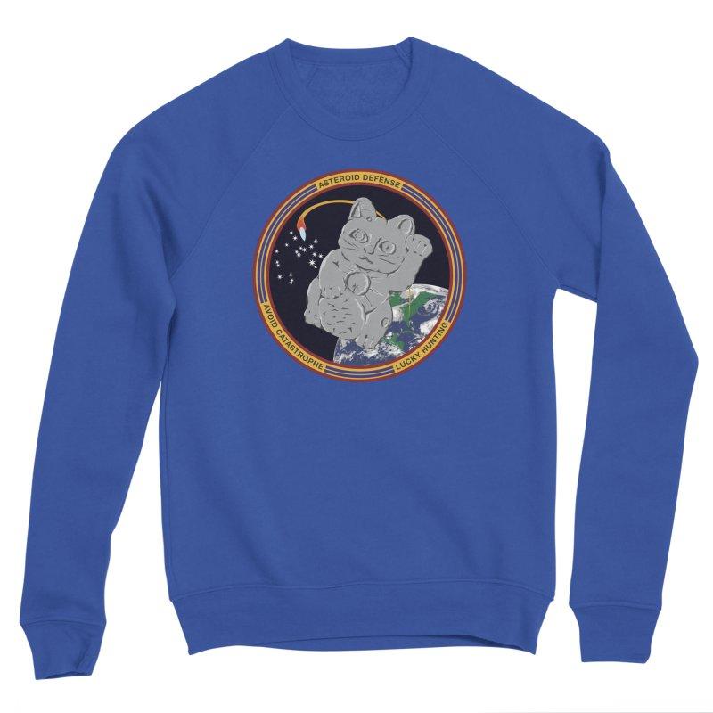 Stay Safe on Asteroid Day Women's Sponge Fleece Sweatshirt by Peregrinus Creative