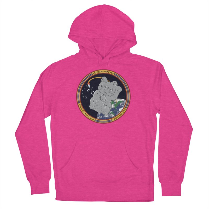 Stay Safe on Asteroid Day Women's French Terry Pullover Hoody by Peregrinus Creative