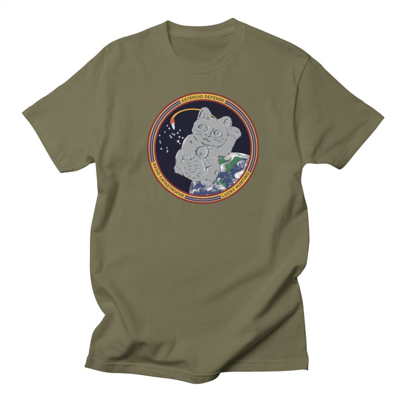 Stay Safe on Asteroid Day Women's Regular Unisex T-Shirt by Peregrinus Creative