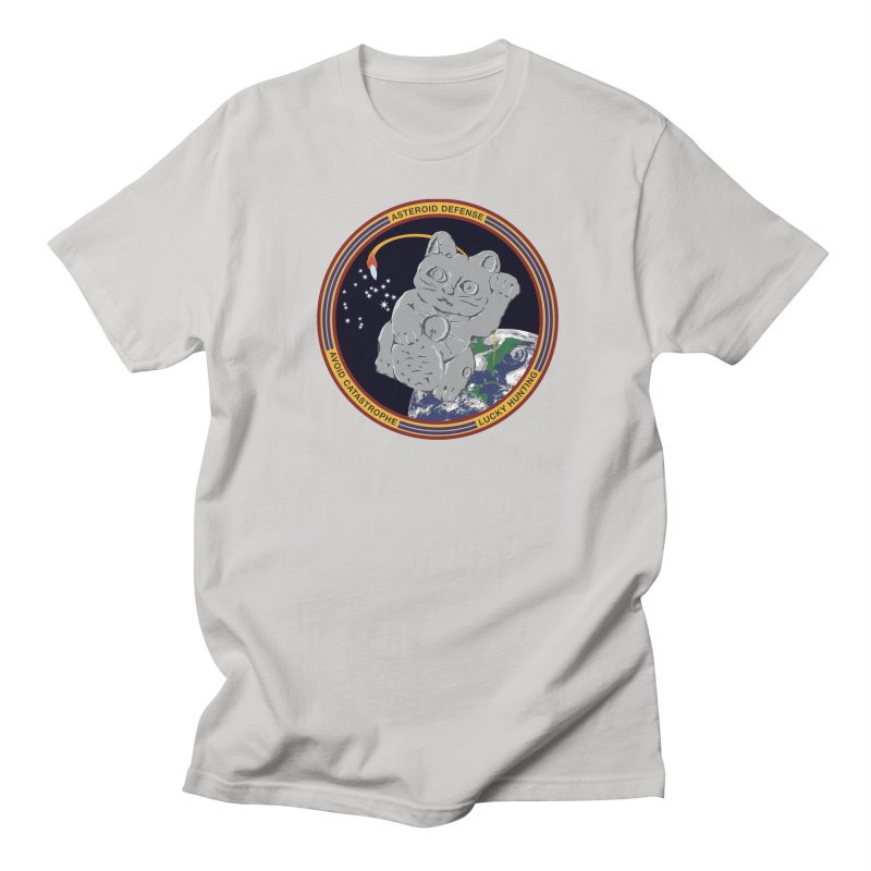 Stay Safe on Asteroid Day Men's Regular T-Shirt by Peregrinus Creative