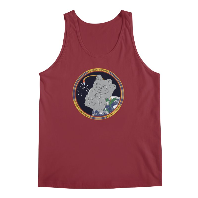 Stay Safe on Asteroid Day Men's Regular Tank by Peregrinus Creative