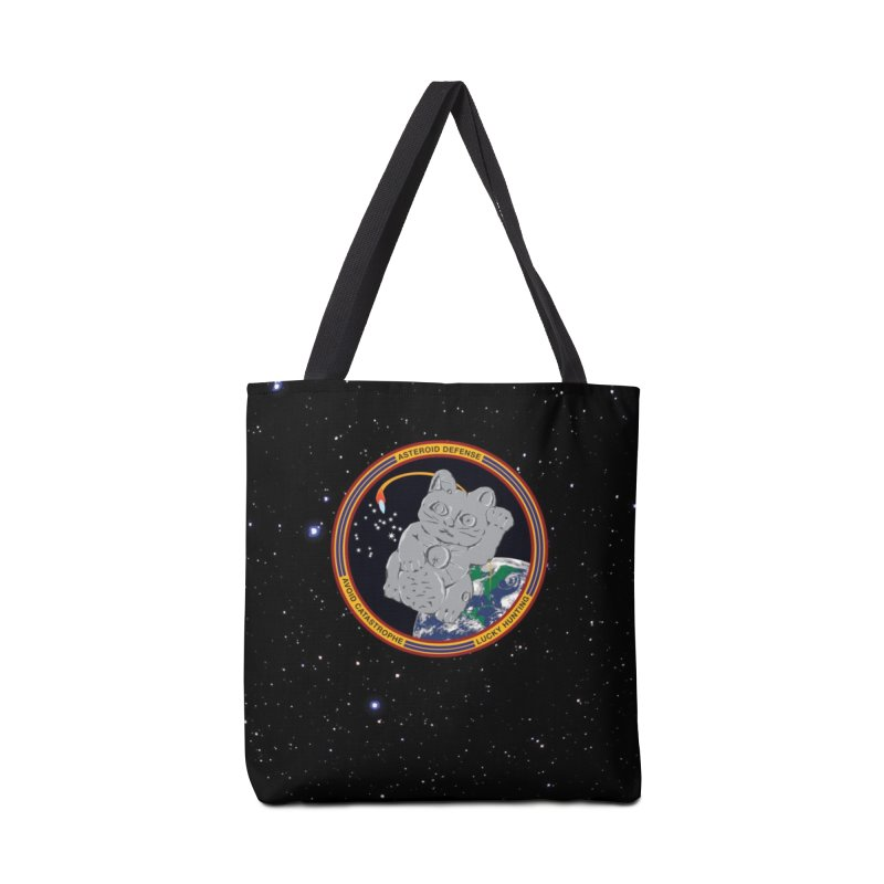 Stay Safe on Asteroid Day Accessories Tote Bag Bag by Peregrinus Creative