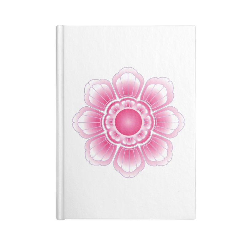 Khmer Lotus Accessories Blank Journal Notebook by Peregrinus Creative