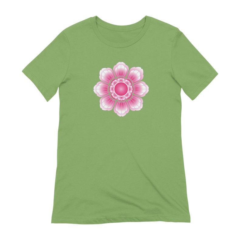 Khmer Lotus Women's Extra Soft T-Shirt by Peregrinus Creative