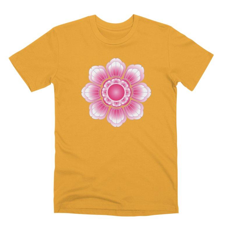 Khmer Lotus Men's Premium T-Shirt by Peregrinus Creative