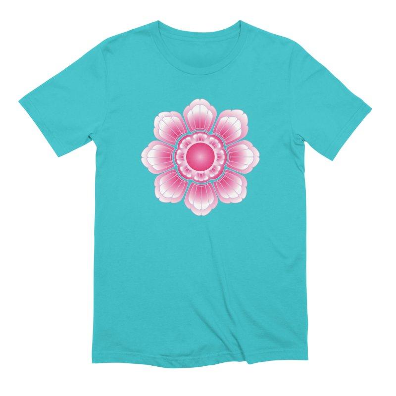 Khmer Lotus Men's Extra Soft T-Shirt by Peregrinus Creative