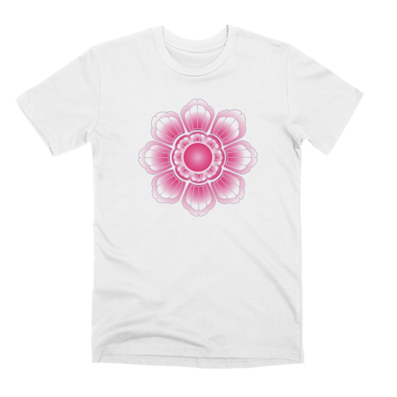 Khmer Lotus Men's Premium T-Shirt by Peregrinus Creative