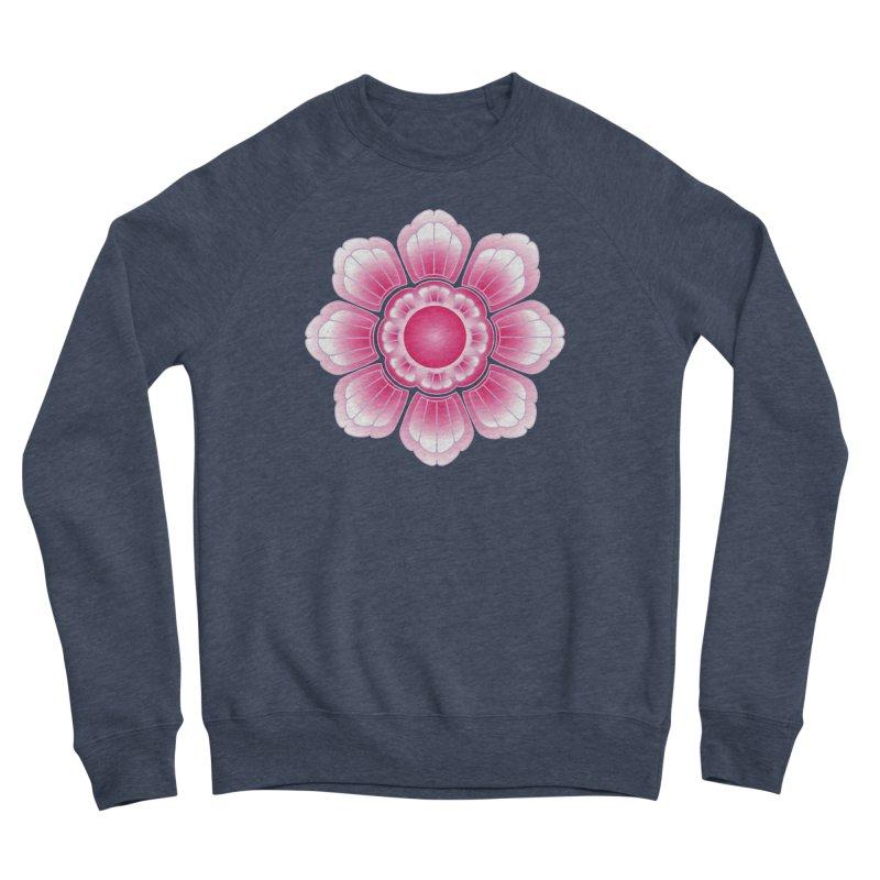 Khmer Lotus Women's Sponge Fleece Sweatshirt by Peregrinus Creative