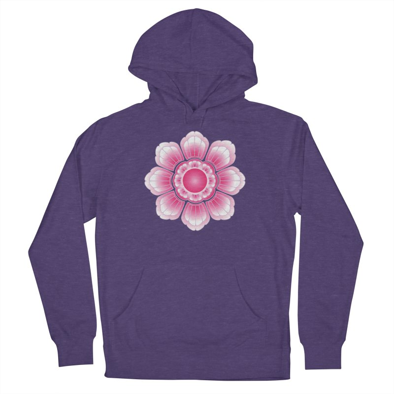 Khmer Lotus Women's French Terry Pullover Hoody by Peregrinus Creative