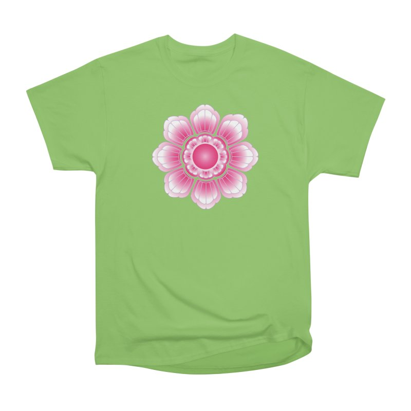 Khmer Lotus Women's Heavyweight Unisex T-Shirt by Peregrinus Creative
