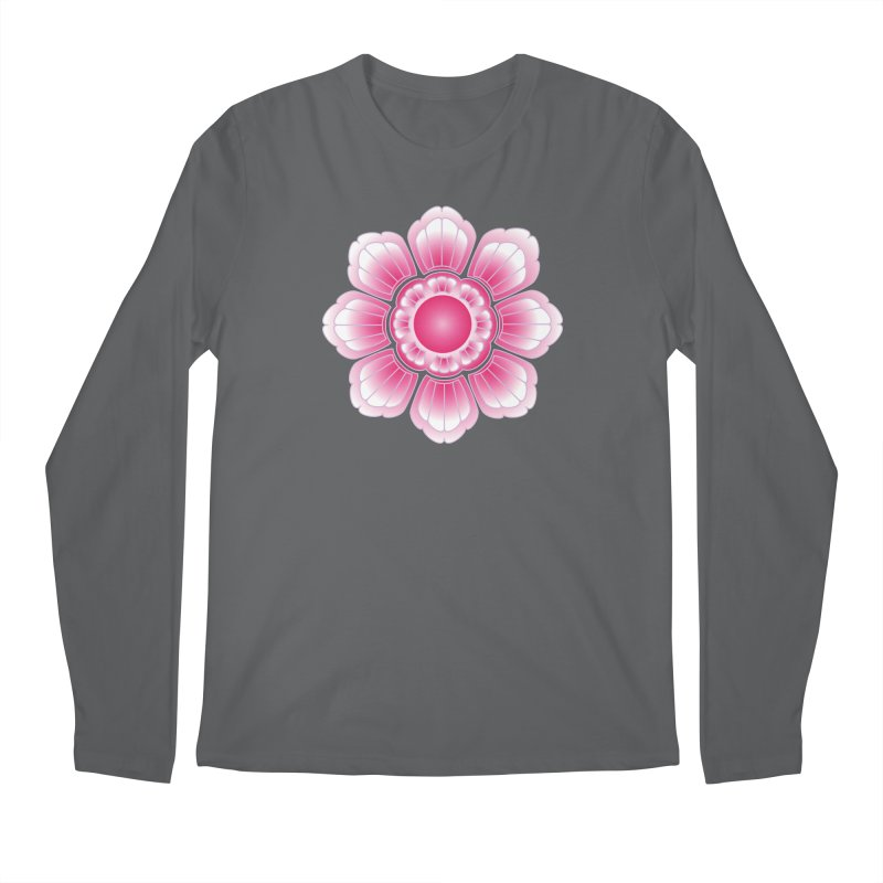 Khmer Lotus Men's Longsleeve T-Shirt by Peregrinus Creative