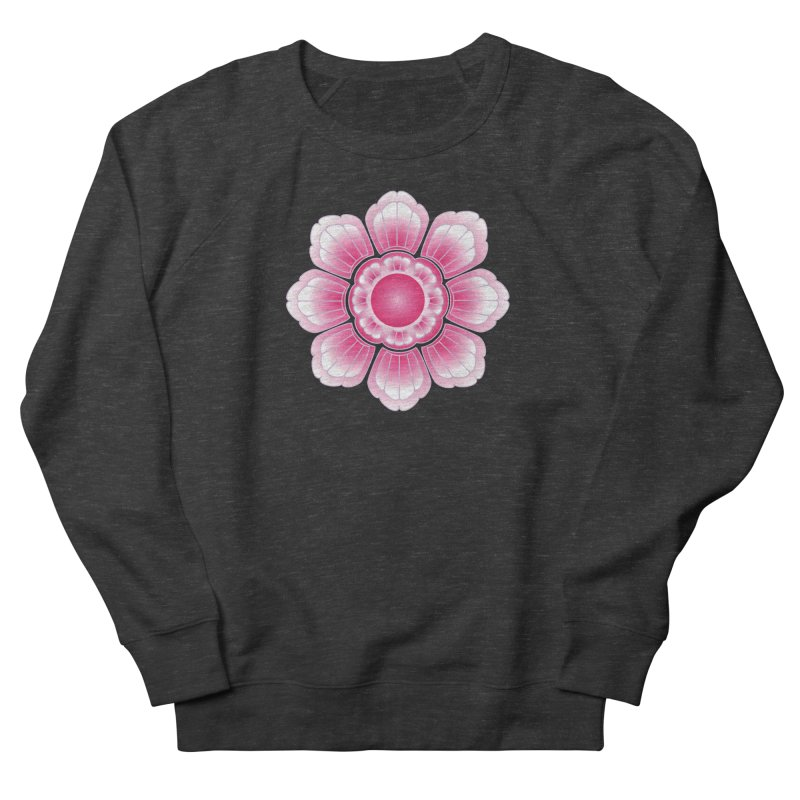 Khmer Lotus Women's French Terry Sweatshirt by Peregrinus Creative