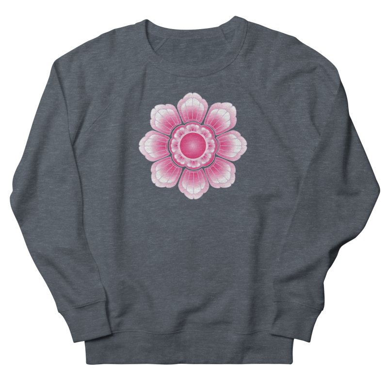 Khmer Lotus Men's French Terry Sweatshirt by Peregrinus Creative