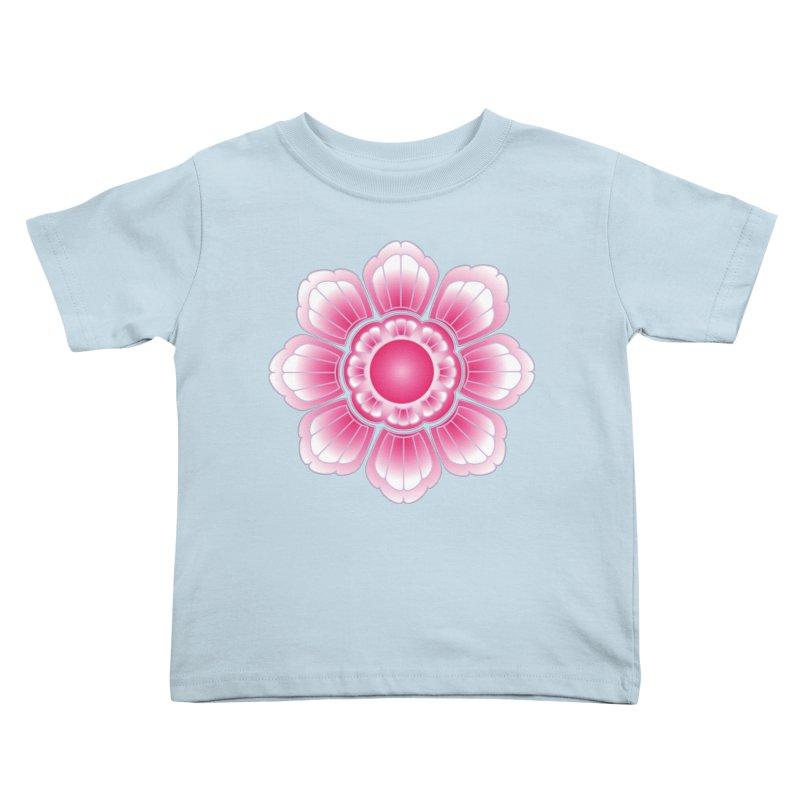 Khmer Lotus Kids Toddler T-Shirt by Peregrinus Creative