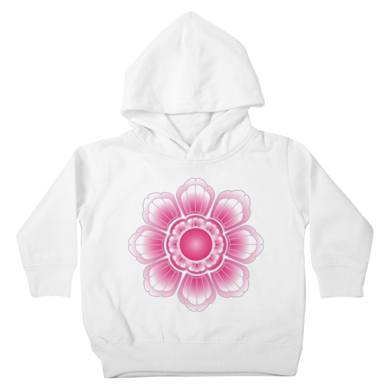 Khmer Lotus Kids Toddler Pullover Hoody by Peregrinus Creative