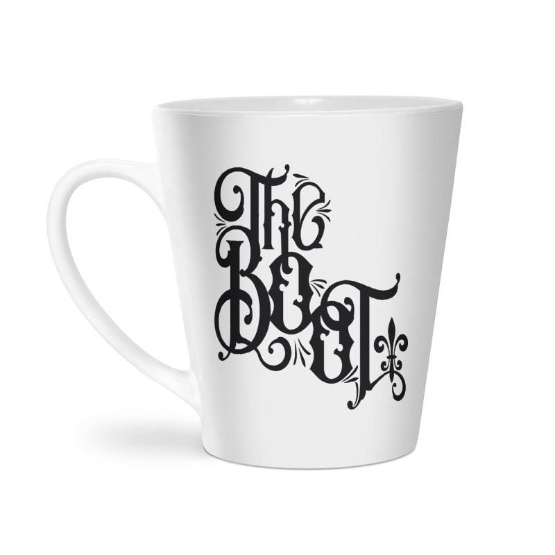 The Boot Accessories Latte Mug by Peregrinus Creative
