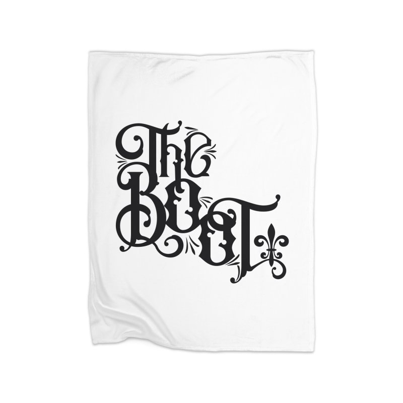 The Boot Home Fleece Blanket Blanket by Peregrinus Creative