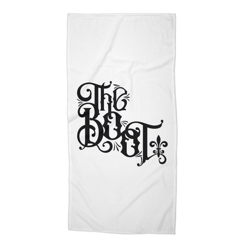 The Boot Accessories Beach Towel by Peregrinus Creative