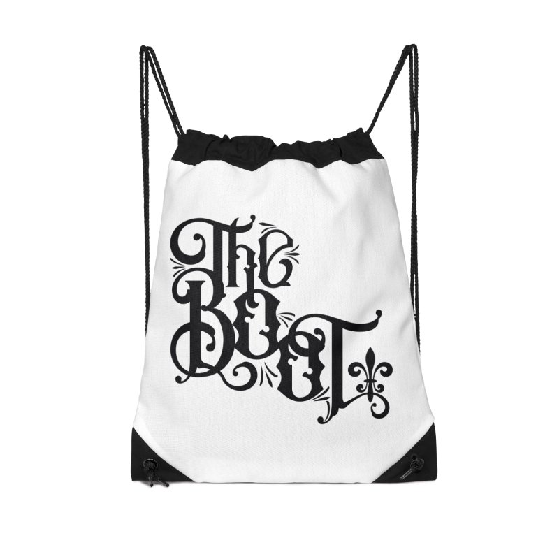 The Boot Accessories Drawstring Bag Bag by Peregrinus Creative
