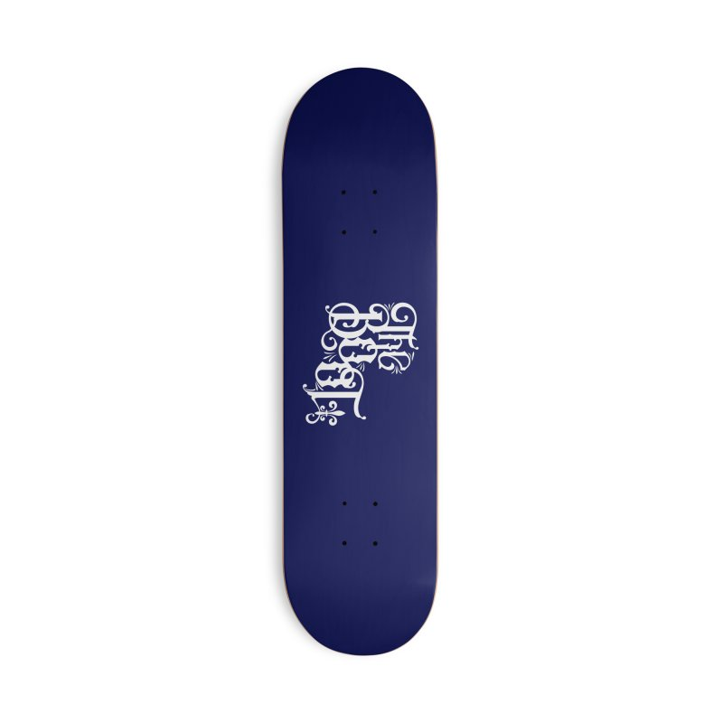 The Boot Accessories Deck Only Skateboard by Peregrinus Creative
