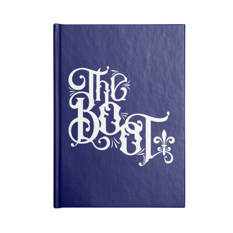 The Boot Accessories Lined Journal Notebook by Peregrinus Creative