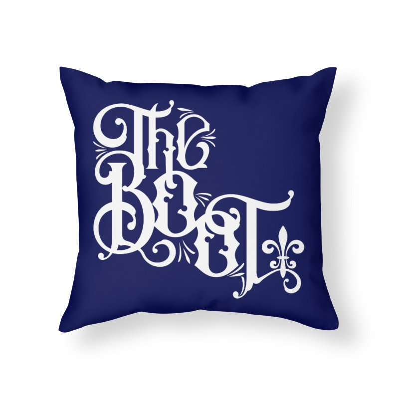 The Boot Home Throw Pillow by Peregrinus Creative