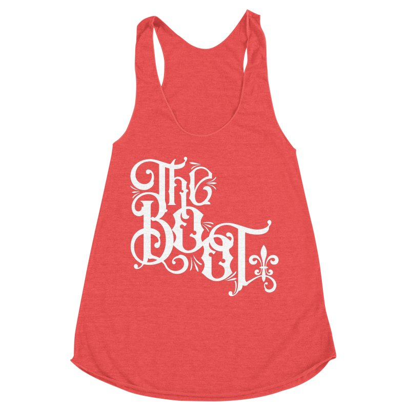 The Boot Women's Racerback Triblend Tank by Peregrinus Creative