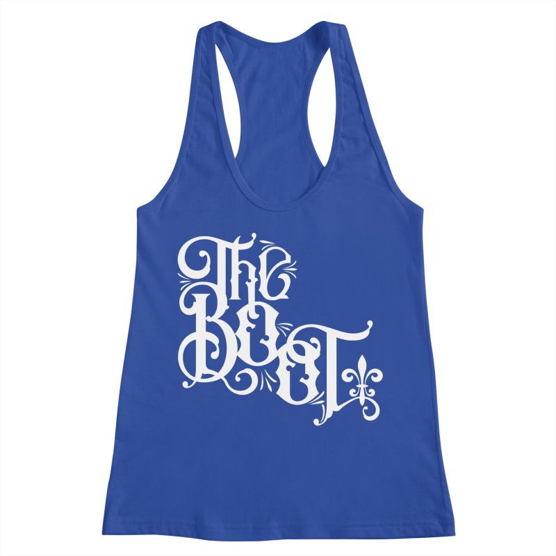 The Boot Women's Racerback Tank by Peregrinus Creative