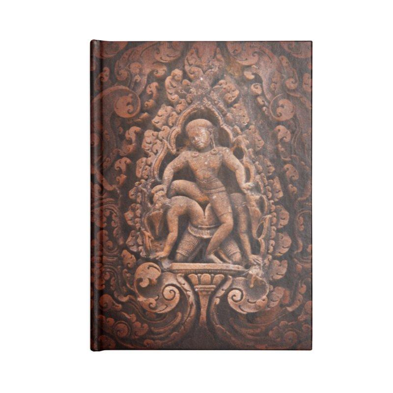 Khmer Warrior rebirth Accessories Lined Journal Notebook by Peregrinus Creative