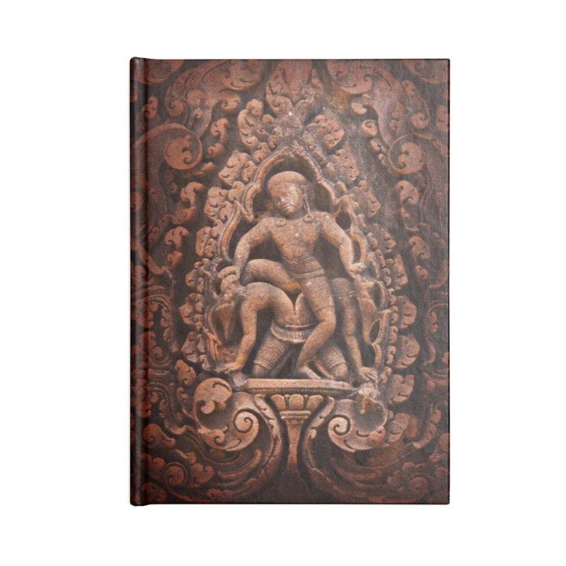 Khmer Warrior rebirth Accessories Blank Journal Notebook by Peregrinus Creative
