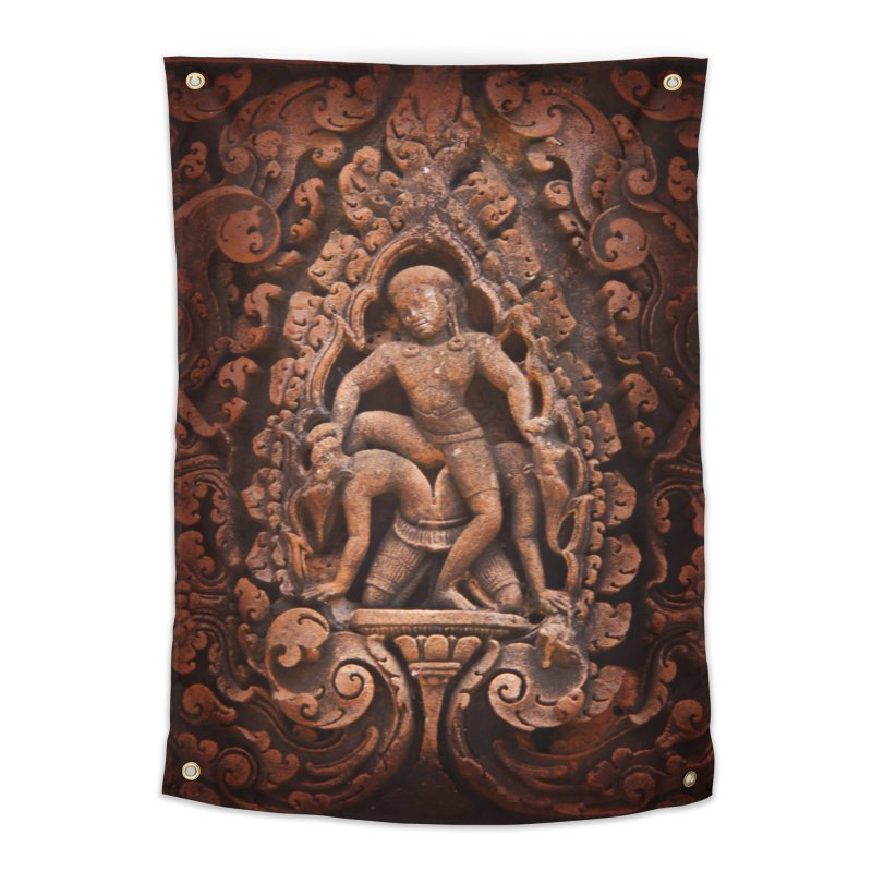 Khmer Warrior rebirth Home Tapestry by Peregrinus Creative